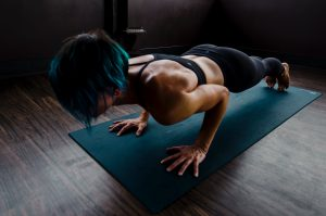 Woman Doing Push Ups 2780762